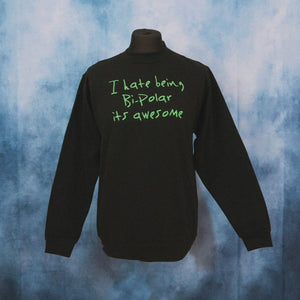 Kanye West - I Hate Being Bipolar It's Awesome Unisex Embroidered Sweater - The Fresh Stuff