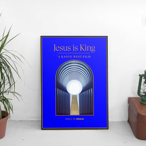 Kanye West - Jesus Is King Film Poster - The Fresh Stuff