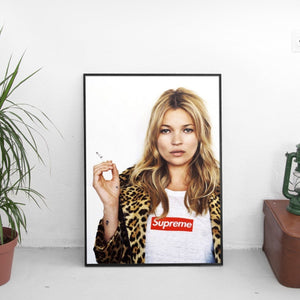 Kate Moss x Supreme Poster - The Fresh Stuff
