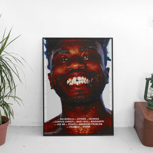 Kevin Abstract - Arizona Baby Tracklist Poster - The Fresh Stuff