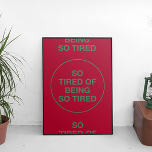 Mac Miller - So Tired Of Being So Tired Poster - The Fresh Stuff