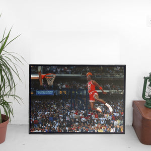 Michael Jordan Slam Dunk 1988 x FRSH Poster - The Fresh Stuff
