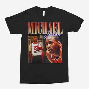 Michael Jordan Vintage Unisex T-Shirt - The Fresh Stuff