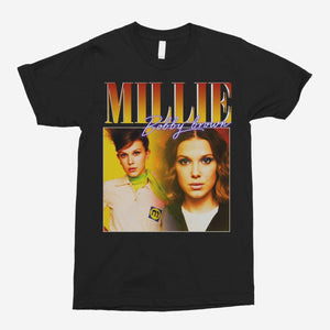 Millie Bobby-Brown Vintage Unisex T-Shirt - The Fresh Stuff