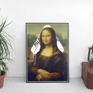 Mona Lisa x Palace Poster - The Fresh Stuff