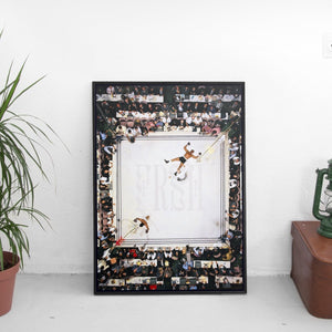 Muhammad Ali and Cleveland Williams x FRSH Poster - The Fresh Stuff