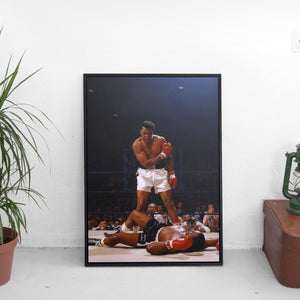 Muhammad Ali and Sonny Liston x FRSH Poster - The Fresh Stuff