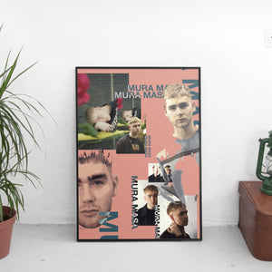 Mura Masa (Medley) Poster - The Fresh Stuff