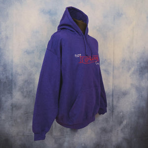 'Not Supreme' Unisex Embroidered Hoodie - The Fresh Stuff