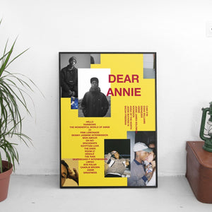 Rejjie Snow - Dear Annie Poster - The Fresh Stuff