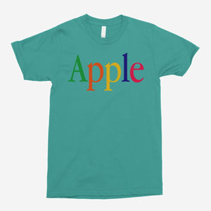 Retro Apple Logo Unisex T-Shirt - The Fresh Stuff