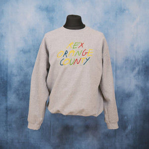 Rex Orange County - Multi Logo Unisex Embroidered Sweater - The Fresh Stuff