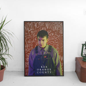 Rex Orange County Scribble Poster - The Fresh Stuff