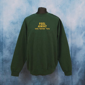 Slowthai - Feel Away (Desire) Unisex Embroidered Sweater - The Fresh Stuff
