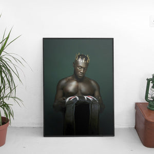 Stormzy - Heavy Is The Head Cover Art Poster - The Fresh Stuff