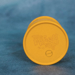 TFS Yellow Herb/Tobacco Grinder - The Fresh Stuff