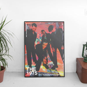 The 1975 - Notes on a Conditional Form Retro Poster - The Fresh Stuff
