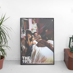 The 1975 - Notes on a Conditional Form Wavy Poster - The Fresh Stuff