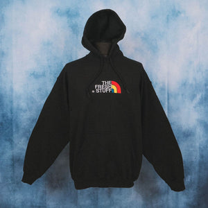 The Fresh Stuff Expedition Unisex Black Embroidered Hoodie - The Fresh Stuff