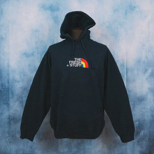 The Fresh Stuff Expedition Unisex Navy Embroidered Hoodie - The Fresh Stuff