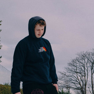 The Fresh Stuff Expedition Unisex Navy Embroidered Sweater - The Fresh Stuff