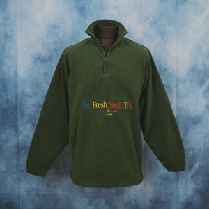 The Fresh Stuff LTD Unisex Embroidered Green Fleece - The Fresh Stuff