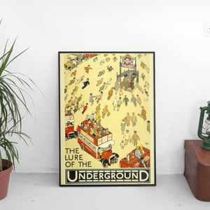 The Lure of the Underground Poster - The Fresh Stuff