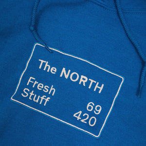 'The NORTH' Unisex Embroidered Hoodie - The Fresh Stuff