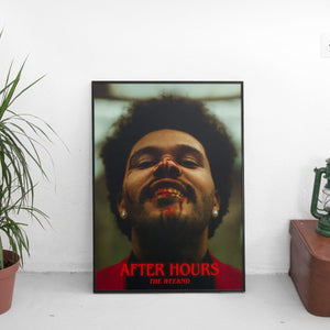 The Weeknd - After Hours Cover Art Poster - The Fresh Stuff