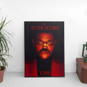 The Weeknd - After Hours Tour Poster - The Fresh Stuff