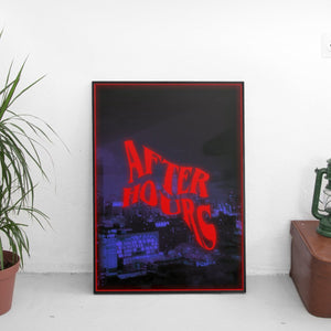 The Weeknd - After Hours Twisted Text Poster - The Fresh Stuff