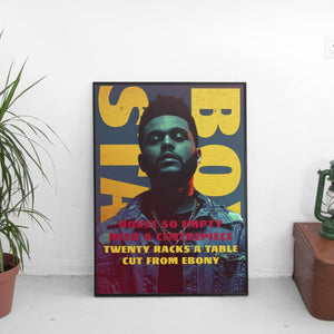 The Weeknd - Starboy Poster - The Fresh Stuff