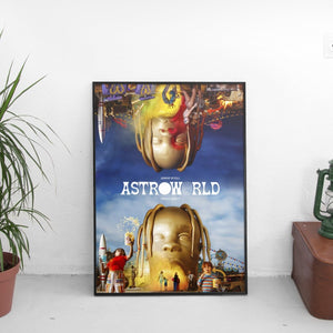Travis Scott - Astroworld Medley Poster - The Fresh Stuff