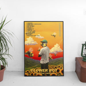Tyler the Creator - Flower Boy Album Poster - The Fresh Stuff