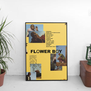 Tyler The Creator - Flower Boy Mismatch Poster - The Fresh Stuff