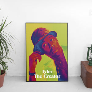 Tyler The Creator Psychedelic Poster - The Fresh Stuff