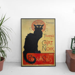 Vintage Chat Noir Poster - The Fresh Stuff