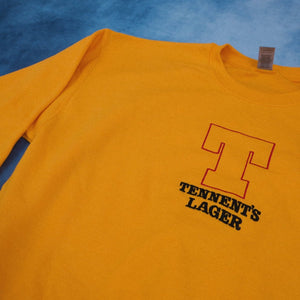 Vintage Tennent's Unisex Embroidered Sweater - The Fresh Stuff