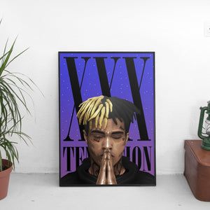 XXX Tentacion (Nighttime) Poster - The Fresh Stuff