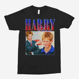 Young Prince Harry Vintage Unisex T-Shirt - The Fresh Stuff