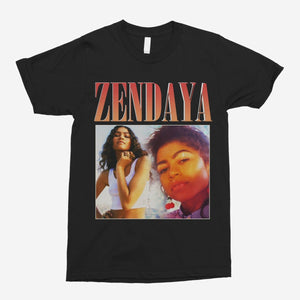 Zendaya Vintage Unisex T-Shirt - The Fresh Stuff