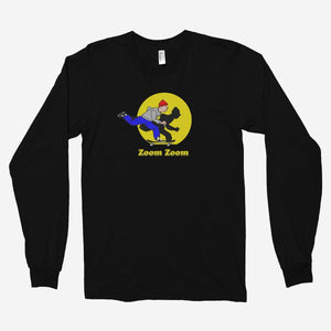 Zoom Zoom Unisex Long Sleeve T-Shirt - The Fresh Stuff