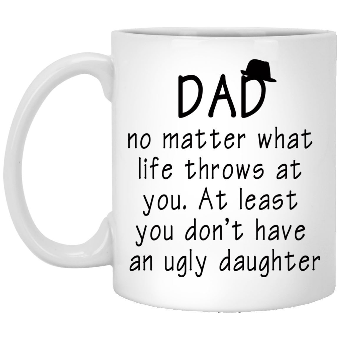 Details About Funny Coffee Mug For Dad From Daughter