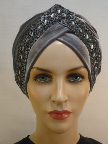 Turban with Ribbon