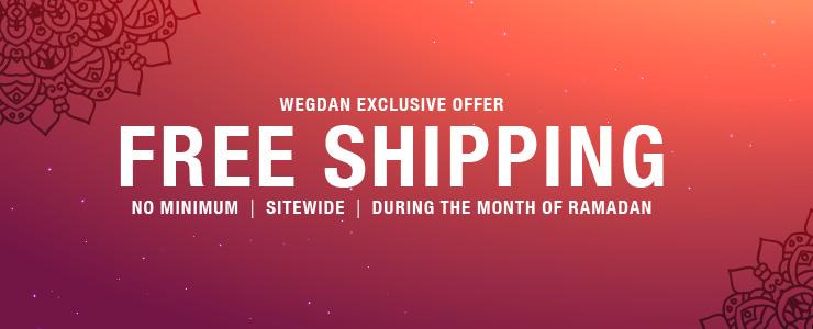 Free Shipping During Month of Ramadan