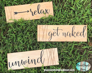 Relax Unwind Get Naked