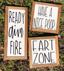Ready Aim Fire | Have A Nice Poop | Fart Zone Set