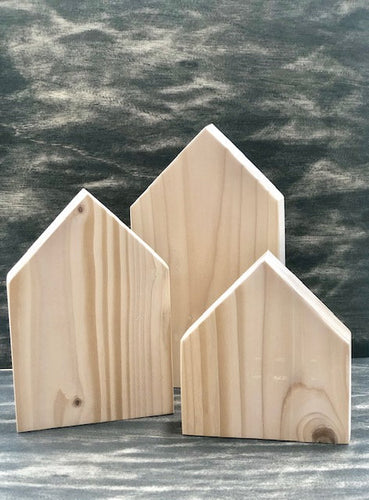 Raw Wood Houses - Solid