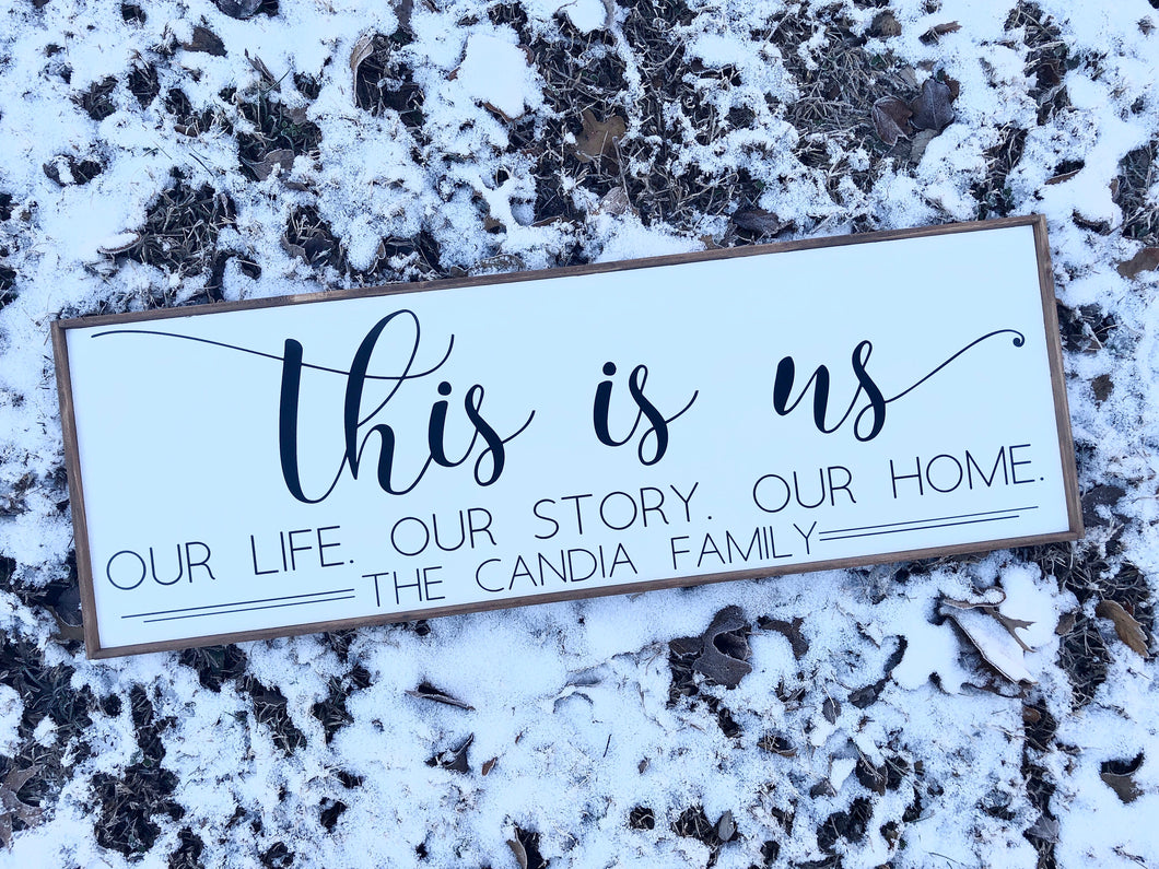 This Is Us - Our Life, Our Story, Our Home