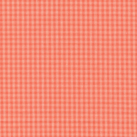 Checks Please Orange de Cloud 9 Fabrics - Organic cotton
